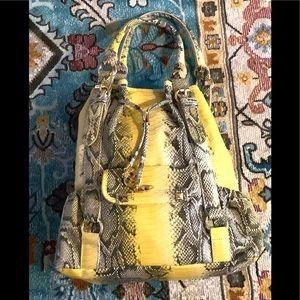 Iman Purse Vegan Snake Skin bag